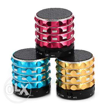 FM radio, bluetooth, microphone and MP3 player speaker