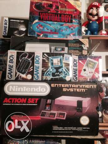 sega, NINTENDO ( all kind) vintage video games in ur home