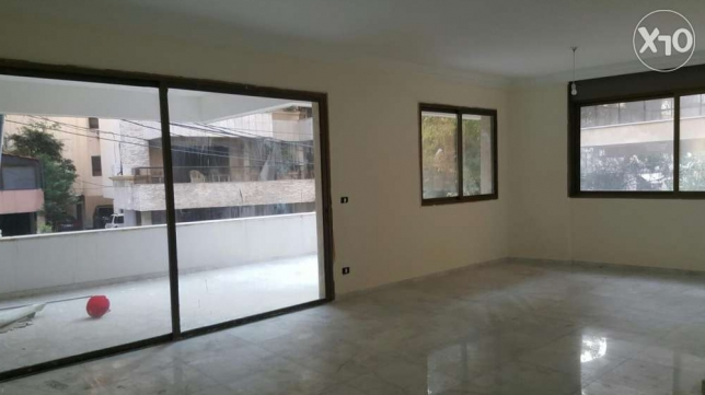 230m2 + 200m2 terrace apartment for sale or rent hazmieh