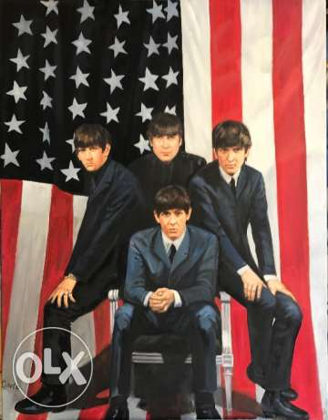 The Beatles Oil Painting For Sale At A Very Good Price.