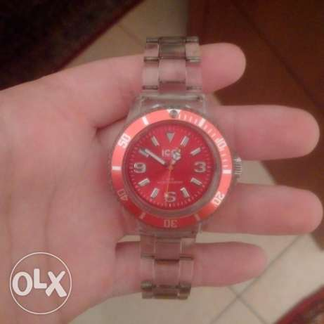 Icewatch Red color