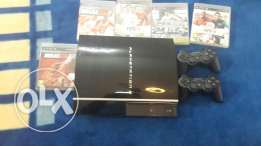 Sell ps3 170$ with all accesories 1month used