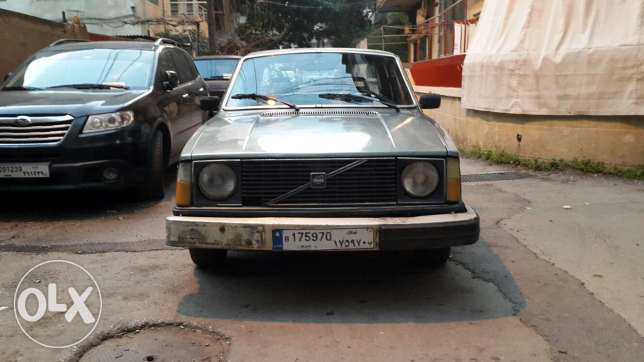For sale : volvo 244 ankad 2017 madfou3