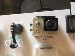 Action Camera 4K with all accessories