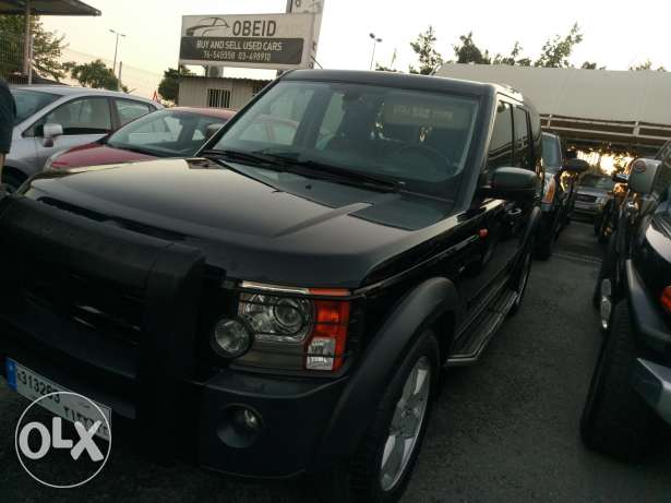 Land rover LR3 black on black HSE مصدر الشركة