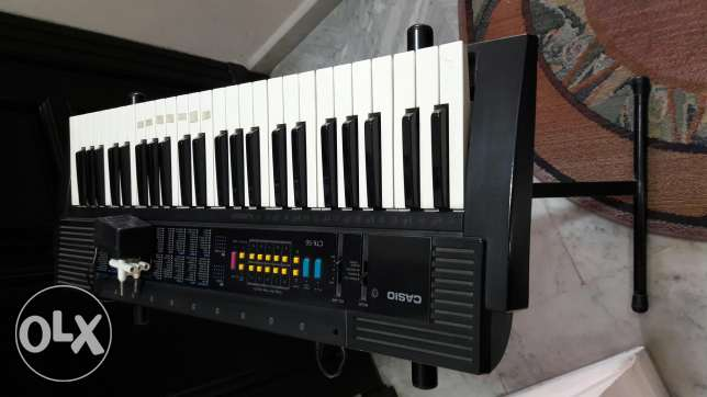 Casio org with stand