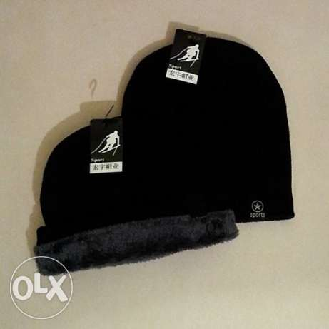 Beanies Men's Hat Faux Fur inside