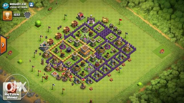 Clash of clans towhal 8 /7 عكار -  4