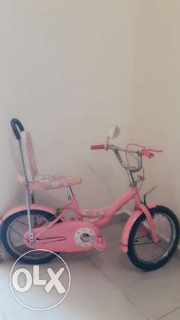 Bicycle for little girl hello kiti in good condition عمارة  شلهوب -  1