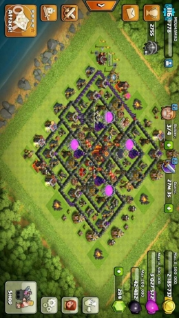 clash of clans village الكورة -  2