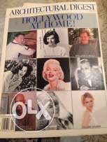 architecture magazines books Hollywood stars collection