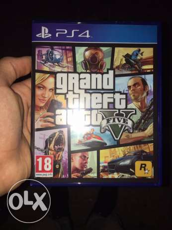 gta5 and black ops 3 for sale (ps4)