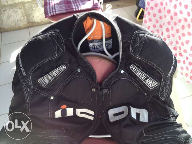 Titanium Motorcycle Jacket Like New