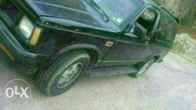GMC JIMMY model 1988 Black motor 4.3 with special plate number عاليه -  4