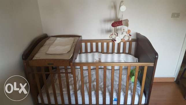 Newborn to toddler bed