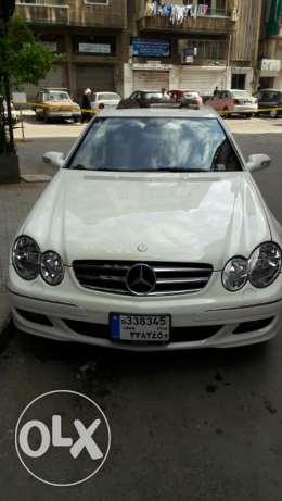 2009 Mercedes CLK350 white