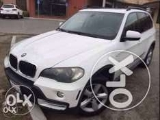 BMW X5 // 2008 white/ basket ,premium