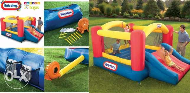 special offer for only 350$ Little tikes Jump 'n Slide Bouncer...