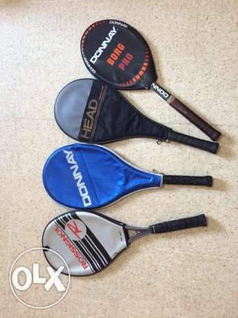 Old tennis Racquets for Sale.