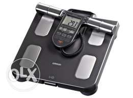 Measures 7 fitness indicators - Omron Body Composition Monitor + Scale