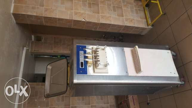 used machine ice cream