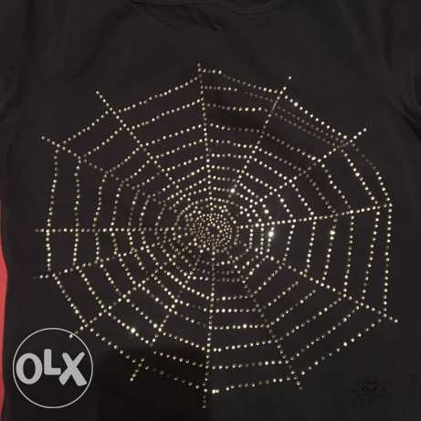 spider strass shirt كسروان -  2