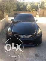 g35 black & black new tires excellent condition no accident