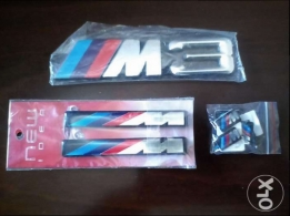 Bmw m3 m power emblems