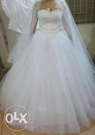 White wedding dress الشوف -  3