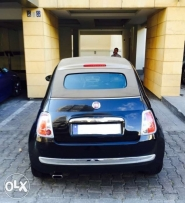 Fiat 500C (convertible) company source special edition 0 accident