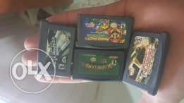 game boy + 4 games and 1 cover verry clean