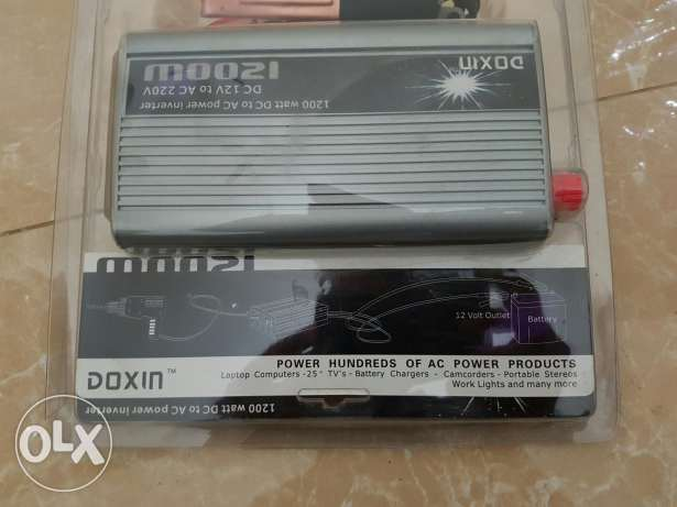 NEW !! Electric battery charger for cars