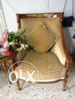 Beige with pillow 4 peaces Fauteuil