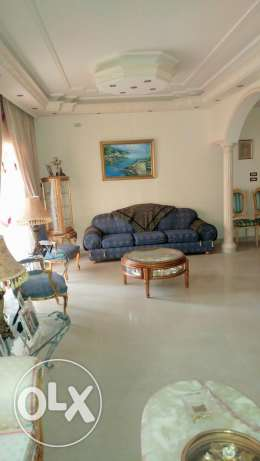 house has chic furniture and decoration عرمون -  7