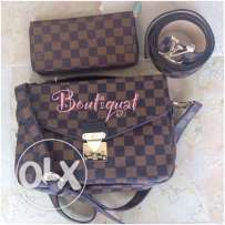 Luxury bags and shoes