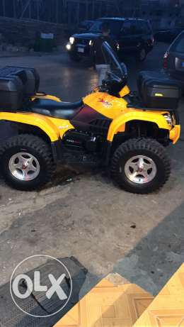 atv for sale 500ccL 4x4 full accessories meshye 3400M