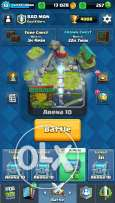 Clash royal base for sale for 100$