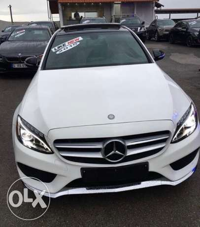 Mercedes benz C 400 4matic AMG package
