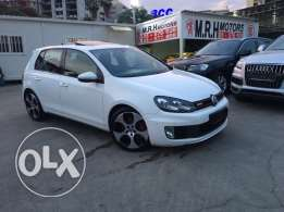 VW Golf GTI 2011 White Fully Loaded in Excellent Condition!
