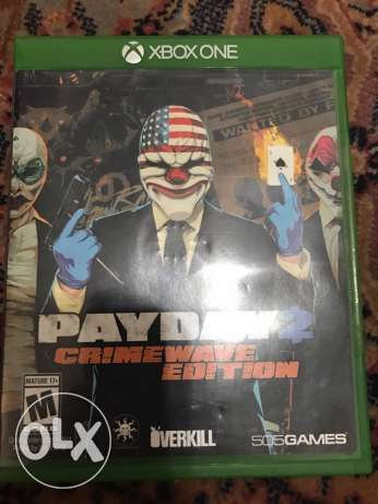 payday 2 xbox one game
