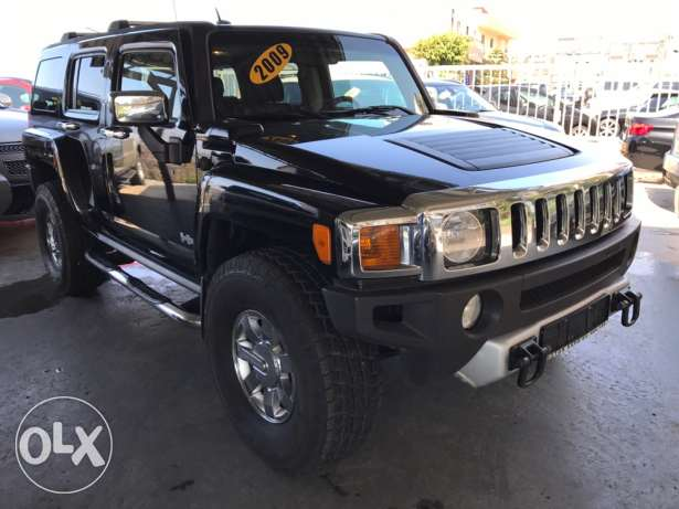 Hummer H3 2009 Black Full options