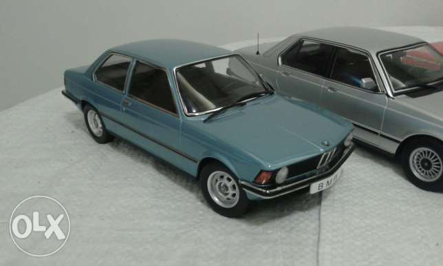 Diecast car collection 1/18