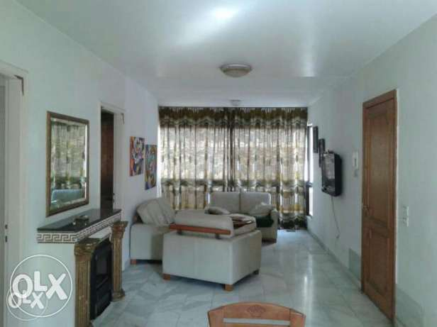 Furniture apartment 2minutes away from down town salim slam