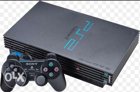 2 playstation 2 (one of them slim)