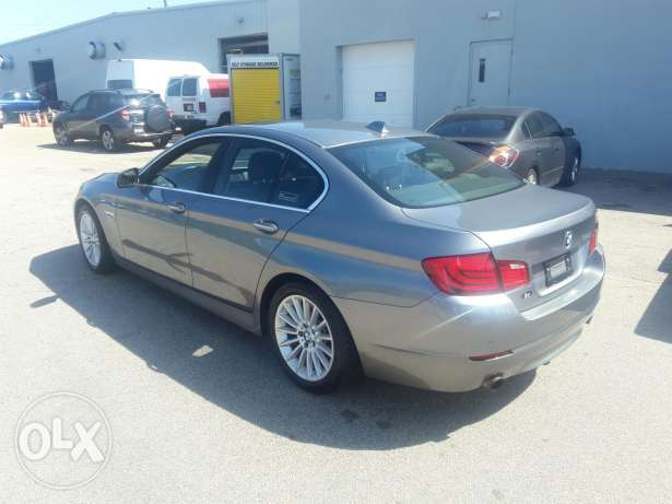 BMW 535i 2011 Ajnabiye Premium package خارقة جبيل -  4