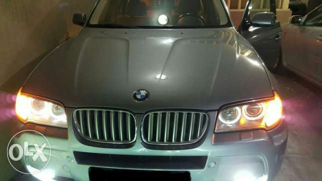 Bmw x3 2008 look M Technic