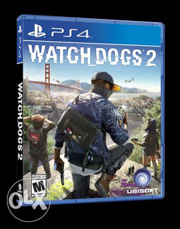 Watchdogs 2 PS4 Brand New Sealed (makhtoume)