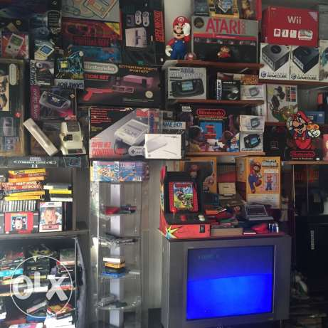 sega , nintendo , atari , ps and all retro game and consoles HADI