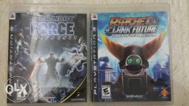 Star wars:the force unleashed-Ratchet & clank future