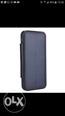 Cover recharge the phone with solaire energie